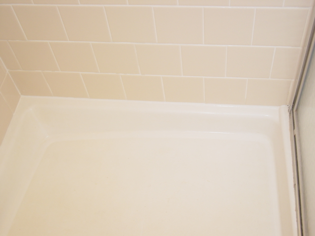 Regrouting - Caulking shower pan