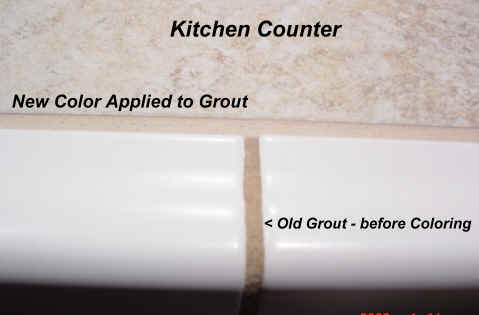 ReColor Existing Grout Got UGLY Grout Call Us We Get Rid Of - Can i grout over existing grout